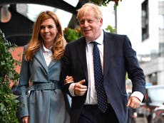 Boris Johnson news - leef: PM marries Carrie Symonds in 'secret ceremony' as his poll ratings plunge