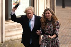 Boris Johnson accused of trying to 'bury bad news' with 'secret' wedding to Carrie Symonds