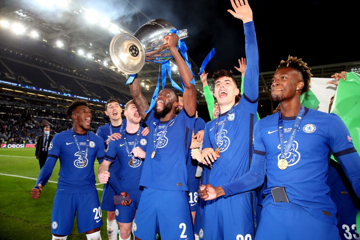 In pictures – Story of Chelsea's glorious night in Porto, London and Manchester