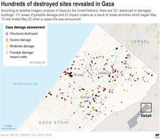 Israel, Egypt talk truce with Hamas, rebuilding Gaza Strip
