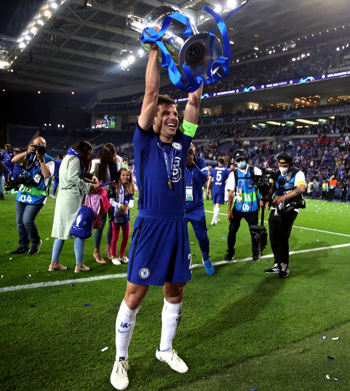 It is amazing – Cesar Azpilicueta elated to lift first trophy as Chelsea captain