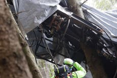 Italy cable car crash: Three released from jail as one under house arrest