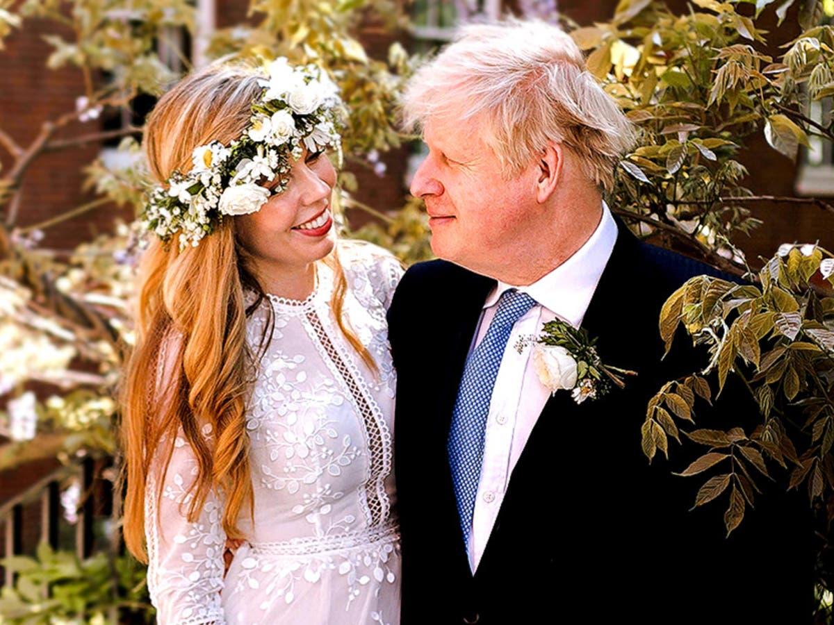 How did Boris Johnson marry in a Catholic ceremony?