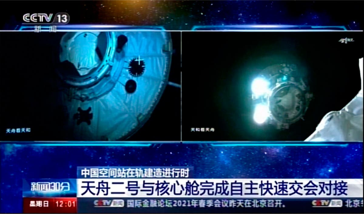 Official: Chinese astronauts go to space station next month