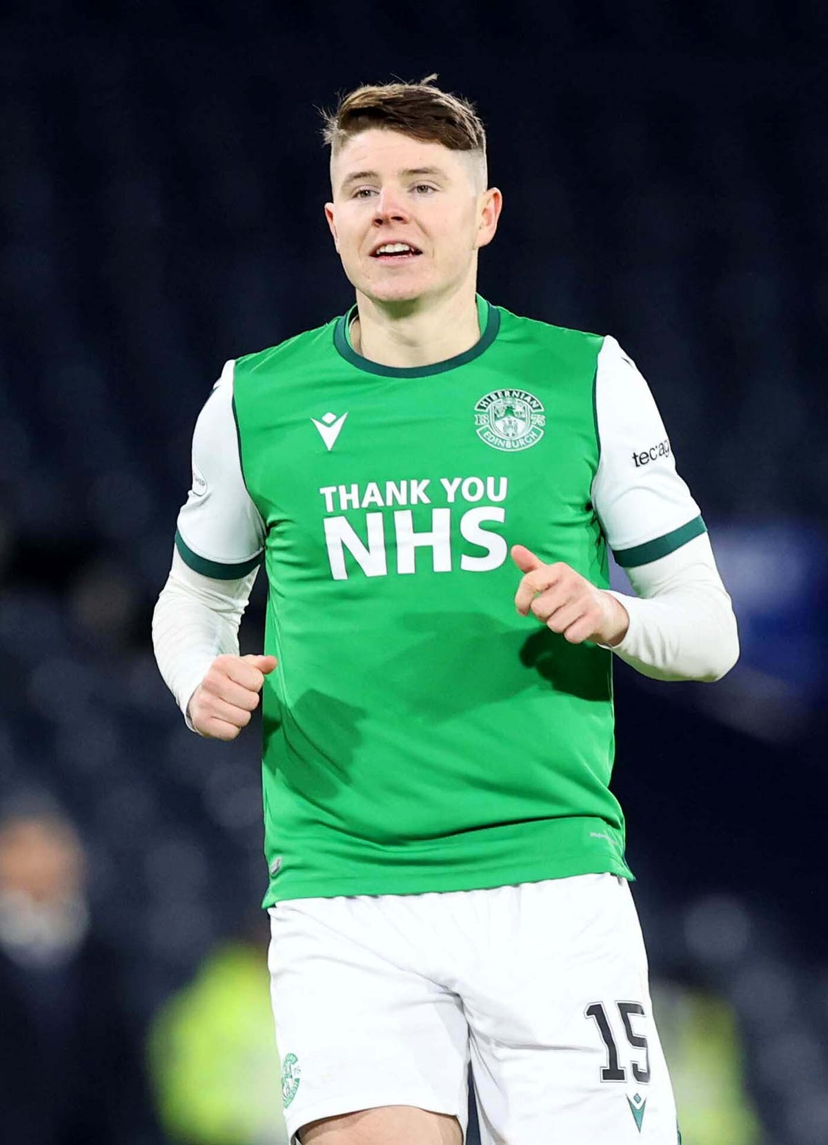 Kevin Nisbet eager to get off the mark for Scotland and stake Euro 2020 claim