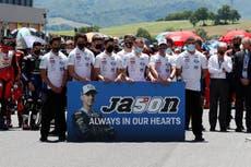 Moto3 rider Jason Dupasquier dies aged 19 after qualifying crash on Saturday