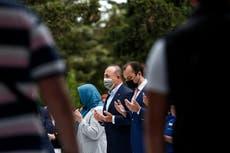 Turkey's foreign minister Cavusoglu begins visit to Greece