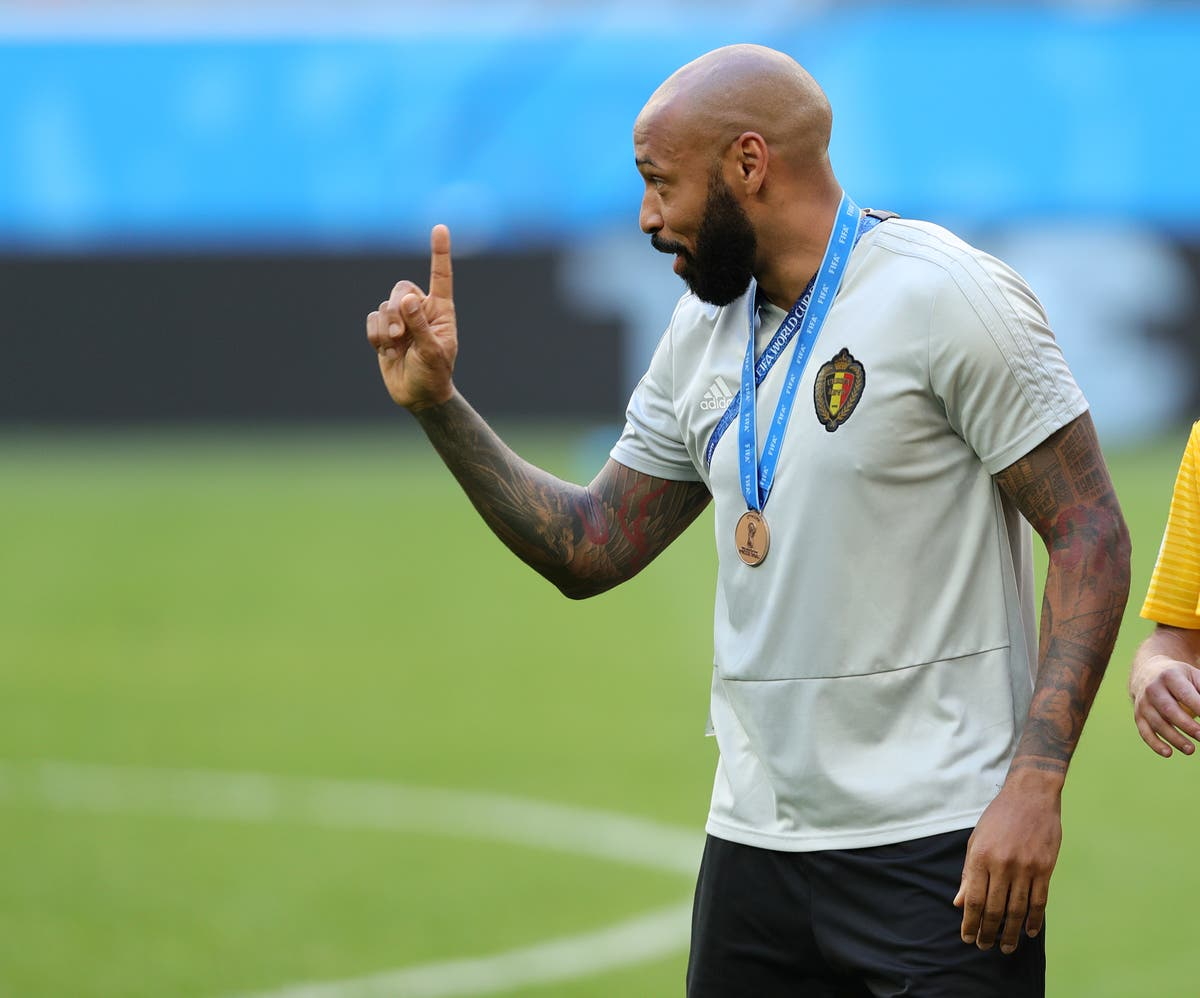 Thierry Henry returns to Belgium's coaching staff for Euro 2020
