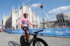 Egan Bernal secures Giro d'Italia victory as Simon Yates claims podium place
