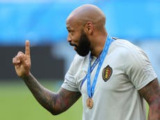 Euro 2020: Thierry Henry returns to Belgium's coaching team
