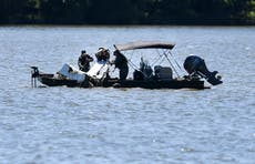 Search continues for 7 plane crash victims in Tennessee lake
