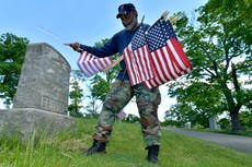 Vets return to Memorial Day traditions as pandemic eases