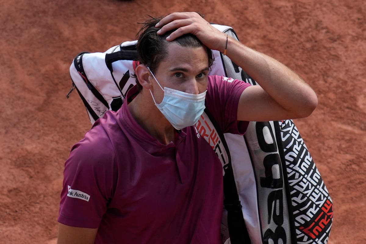 'Just not the real me' – Dominic Thiem feeling flat after early French Open exit