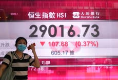 Asian stocks lower after Wall St ends May with gains