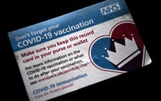 COVIDニュース - 住む: Vaccine passports 'dropped' as 21 June lockdown exit 'should be delayed by weeks'