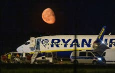 Ryanair plane diverted to Berlin over 'potential threat'