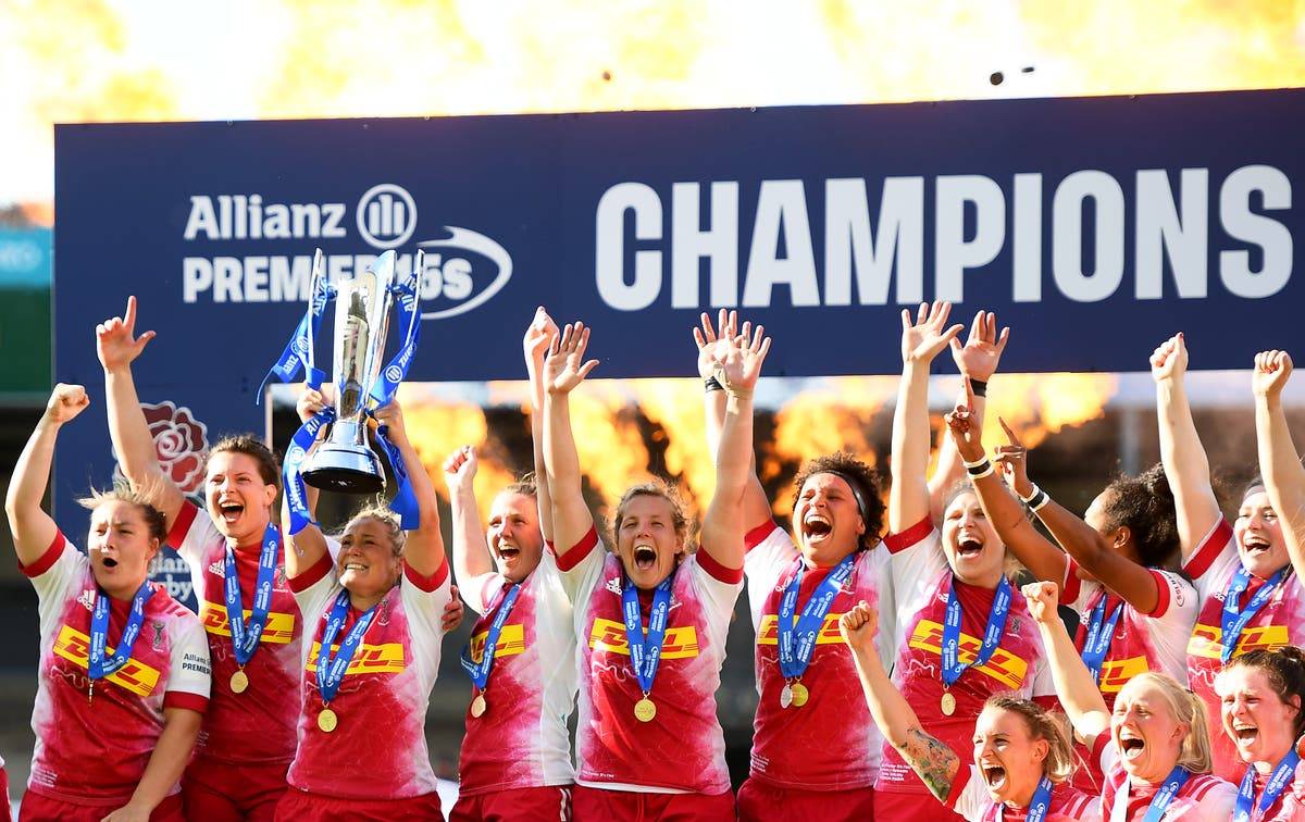Harlequins defeat Saracens to win first Premiership 15s title