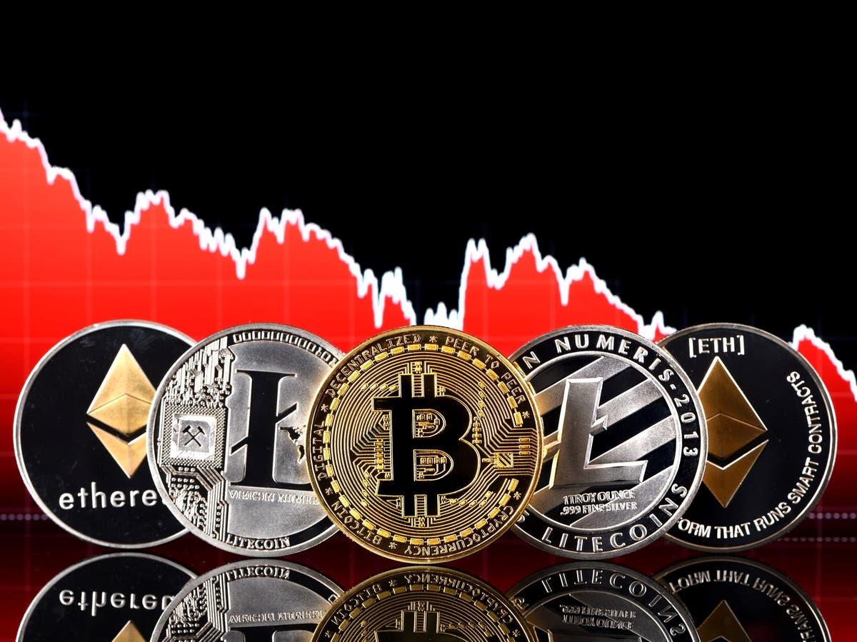 Bitcoin price crash continues amid bank crackdown  – latest