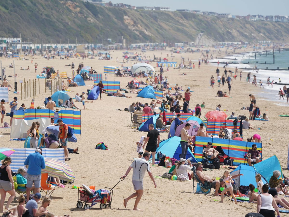Bank holiday Monday could see hottest day of year