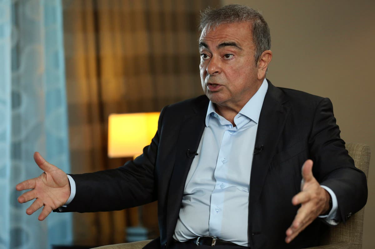 French magistrates question fugitive auto magnate in Beirut