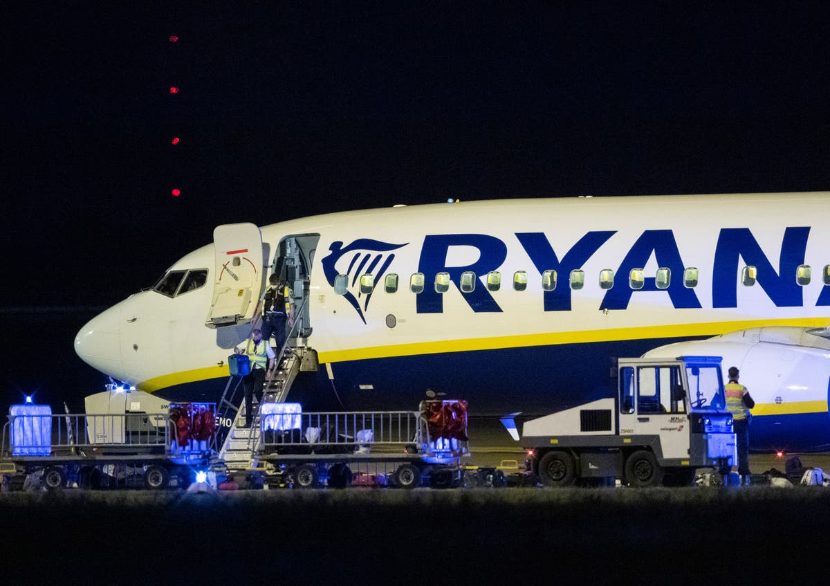 Ryanair flight from Ireland to Poland diverted over 'potential threat'