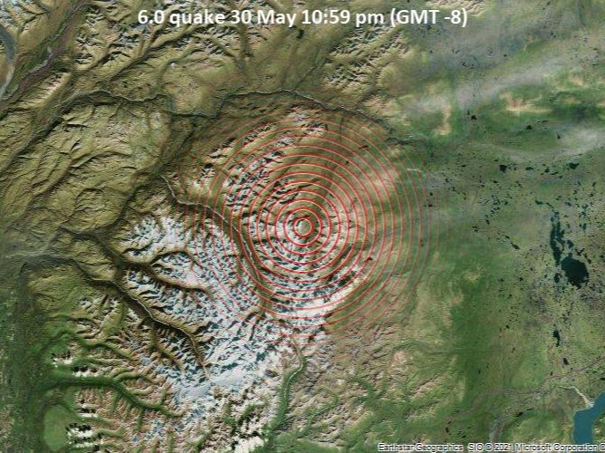 Alaska hit by 6.1-magnitude earthquake