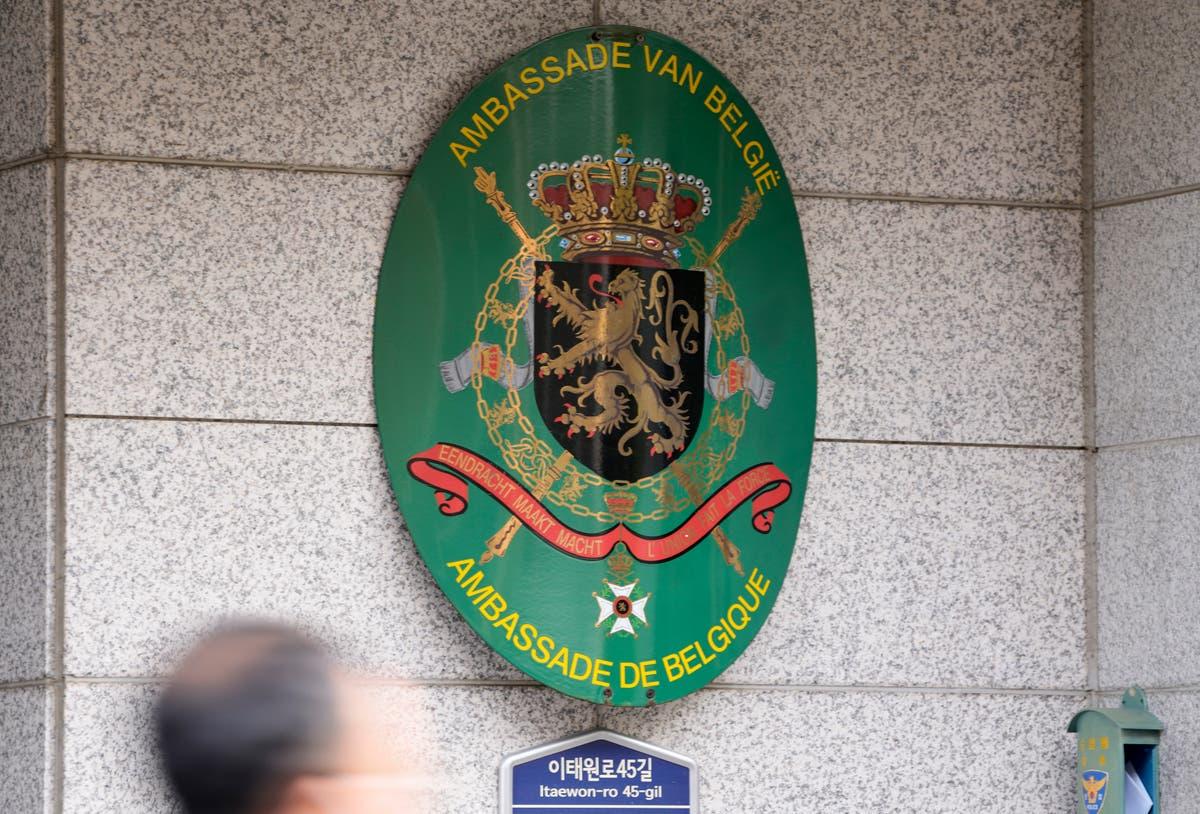 Belgium recalls envoy whose wife allegedly hit 2 in S. Korea