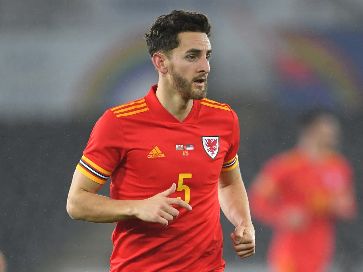 Tom Lockyer called up by Wales as James Lawrence withdraws from Euro 2020 squad through injury