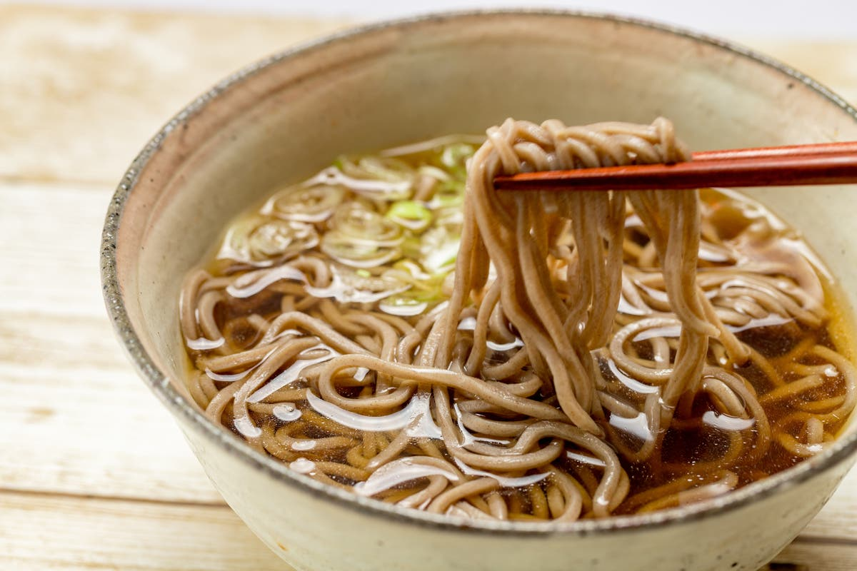 Try these Ottolenghi ginger soba noodles for the perfect veggie comfort food