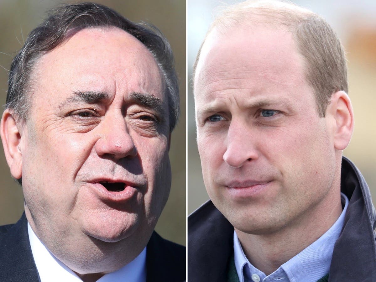Royals should keep out of Scottish independence debate, says Salmond