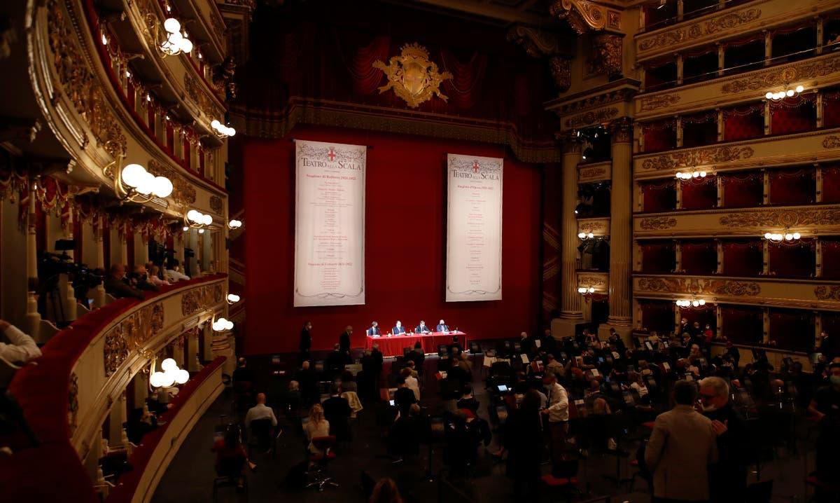 La Scala announces 2021-21 season, with hope of fewer limits