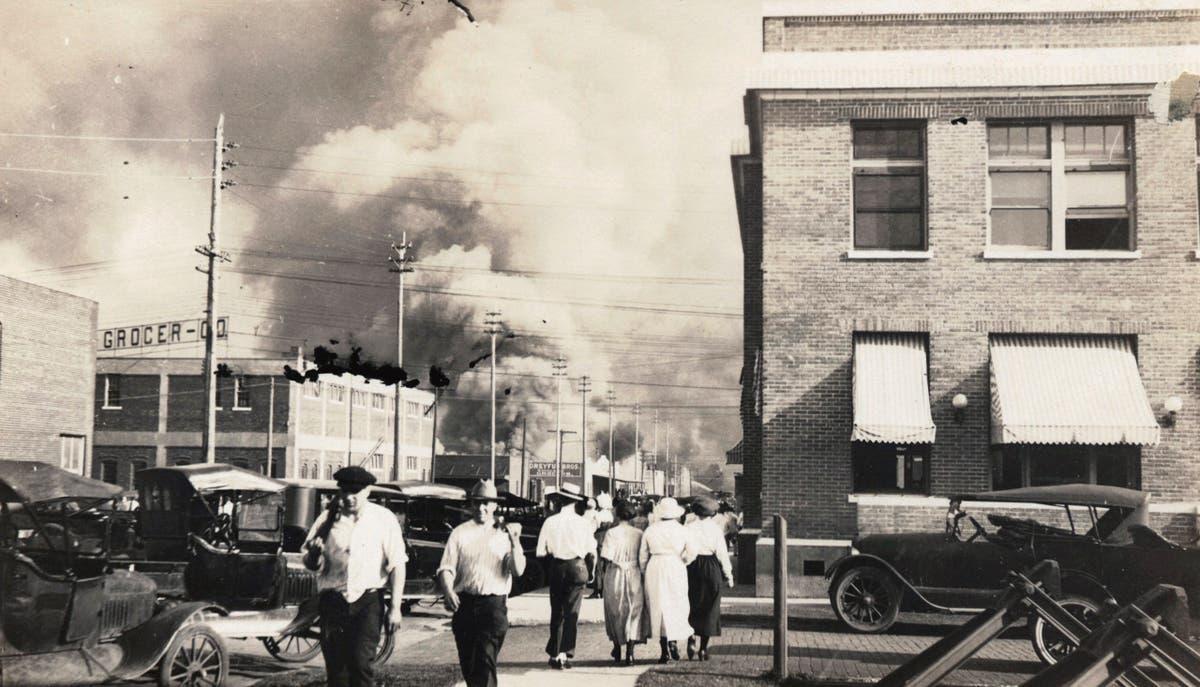 Biden urges Americans to reflect on 'deep roots of racial terror' marking Tulsa massacre anniversary