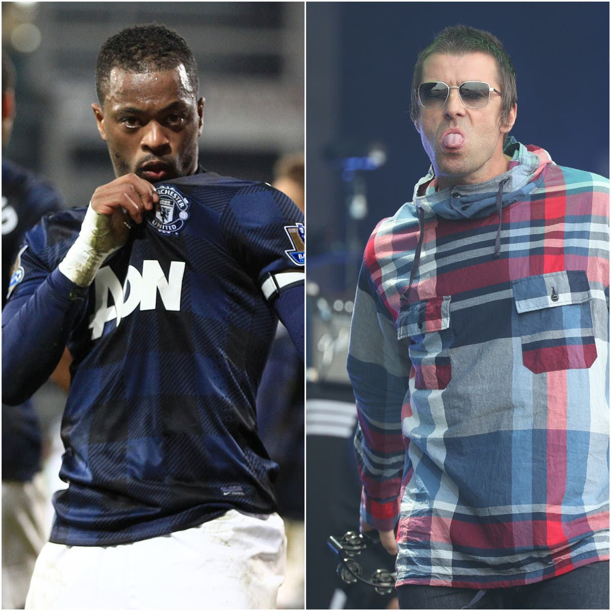 Patrice Evra mocks Liam Gallagher with Oasis remix – Monday's sporting social