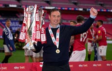 Derek Adams refuses to commit to Morecambe despite promotion to League One