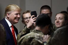 Trump honors 'supreme sacrifice' of fallen soldiers. He hasn't always celebrated the troops
