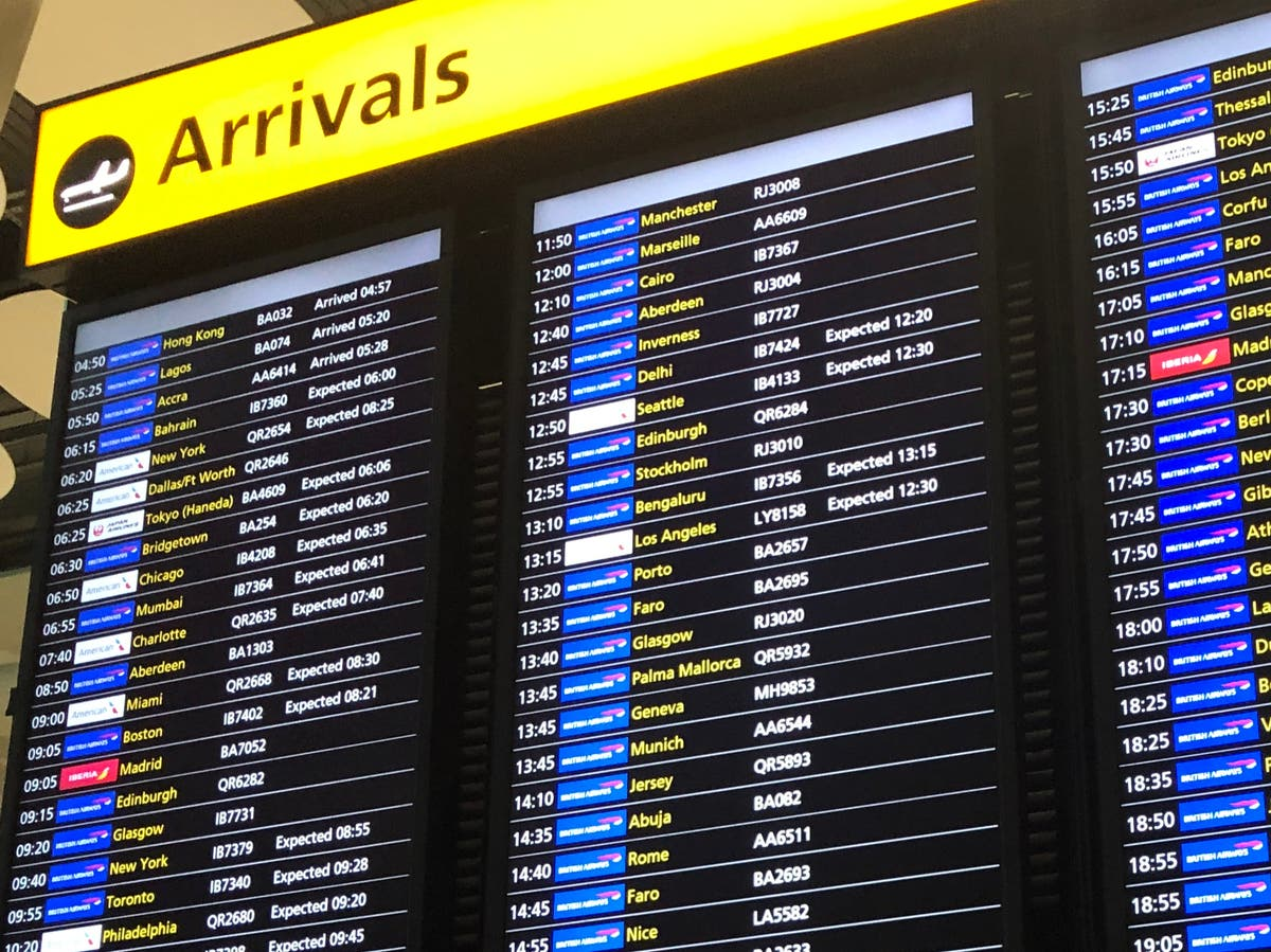 Heathrow 'red list' terminal opens – but will only catch some arrivals