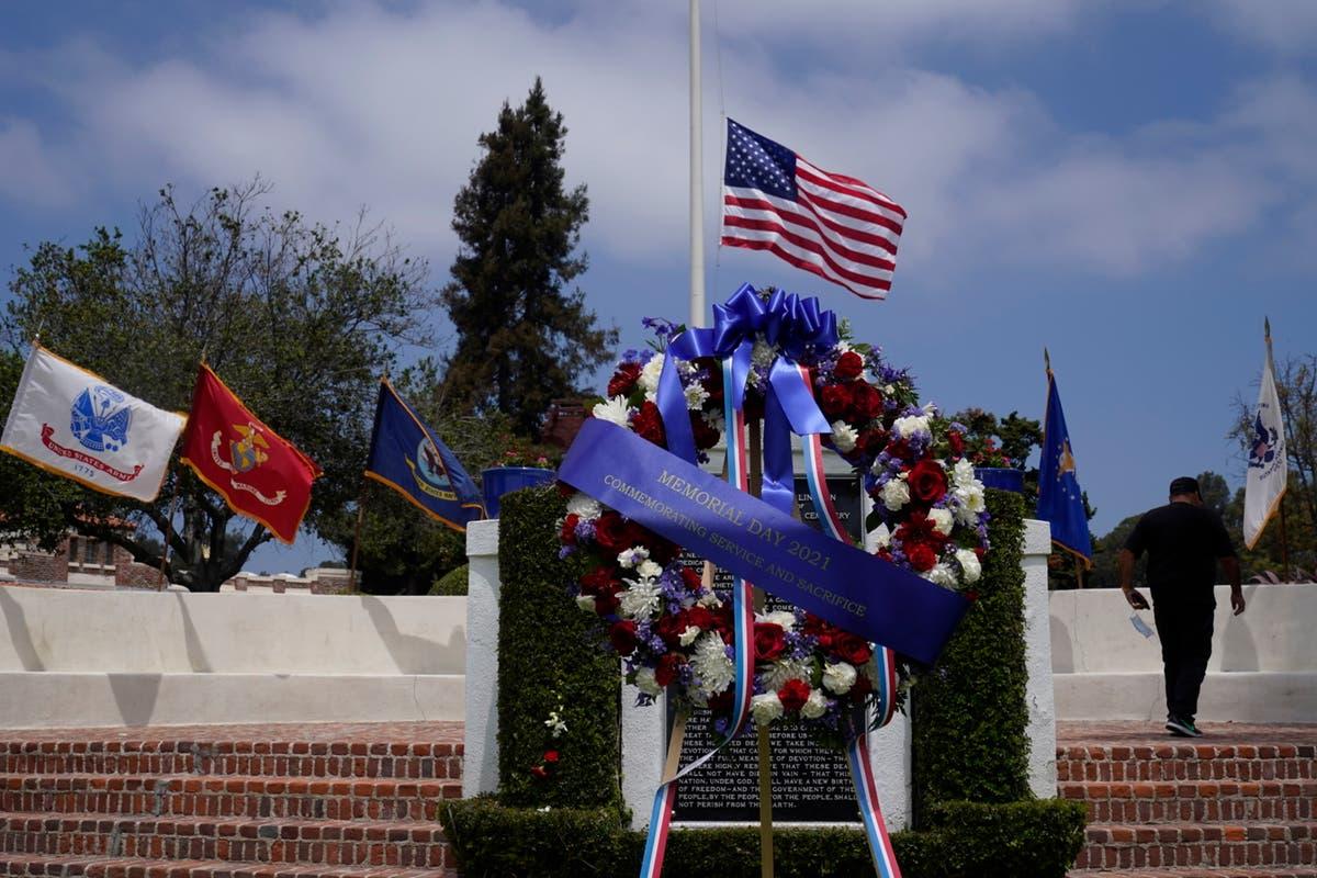 Huge American flag stolen from California veterans cemetery