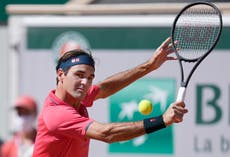 French Open day two: Naomi Osaka withdraws as Roger Federer returns in style