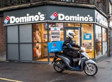 Domino's seeks 5,000 staff as temporary workers return to pre-Covid jobs