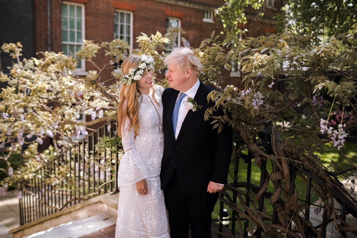 Carrie Symonds and the wedding dress rental boom