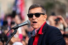 Michael Flynn denies calling for a coup (despite video of him doing it)