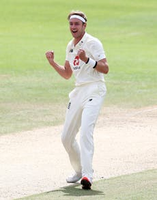 Stuart Broad named England vice-captain for first Test against New Zealand