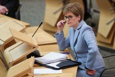 Nicola Sturgeon announces Glasgow lockdown restrictions to be eased from midnight Friday