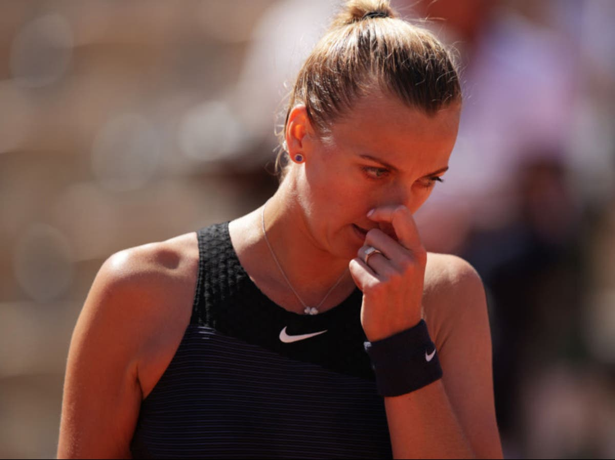 Petra Kvitova withdraws from French Open after freak ankle injury