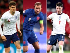 The England starting XI who could line up against Croatia