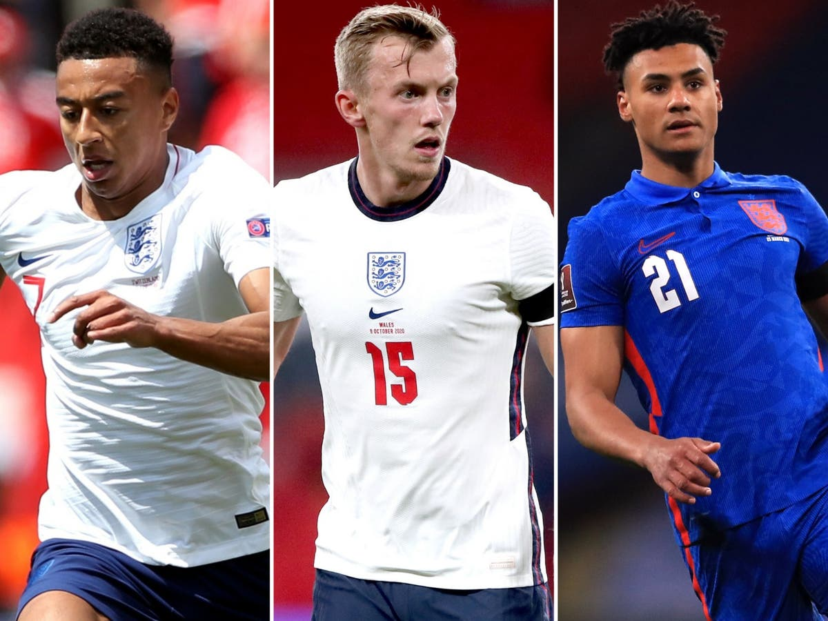 Jesse Lingard and James Ward-Prowse among six names cut from England Euros squad