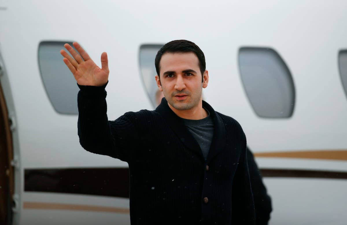 Judge tosses lawsuit from ex-Marine who was jailed in Iran