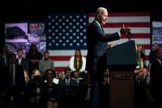Biden calls out 2 Democratic lawmakers for blocking agenda