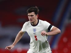 Harry Maguire says ankle injury 'getting better' as Euro 2020 approaches