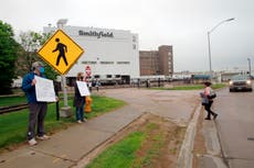 Union considers strike at meat plant that was virus hotspot